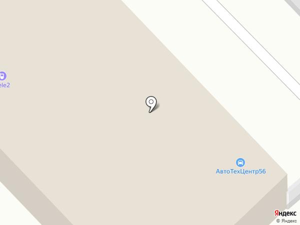 Автомагазин на карте Оренбурга
