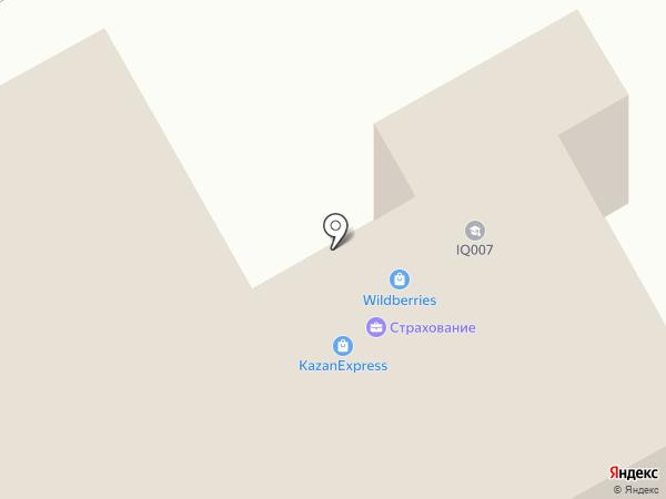 IQ007 на карте Оренбурга