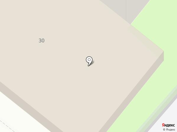 Аверс на карте Оренбурга