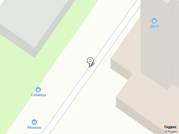 Магазин овощей на карте Оренбурга