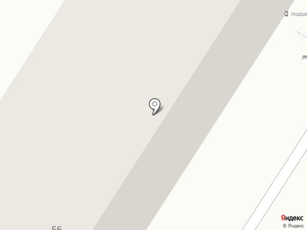 Квартирное бюро на карте Оренбурга