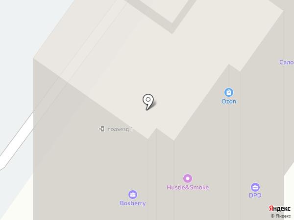 Ладья на карте Оренбурга