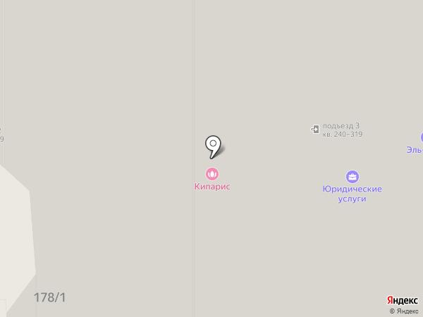 Алина на карте Оренбурга