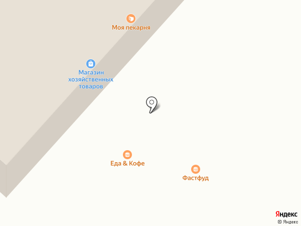 Кофе Поли Оренбург на карте Оренбурга