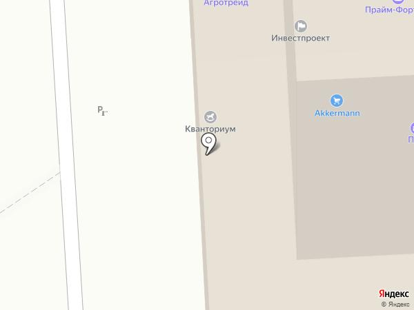 КосМос на карте Оренбурга