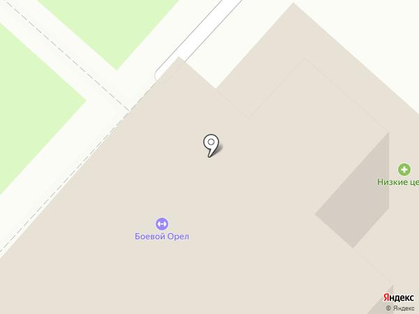 Магазин продуктов на карте Оренбурга