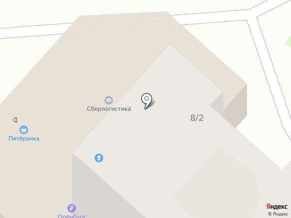 Банкомат, ОИКБ Русь на карте Оренбурга