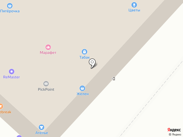 Магазин постельных принадлежностей на карте Оренбурга
