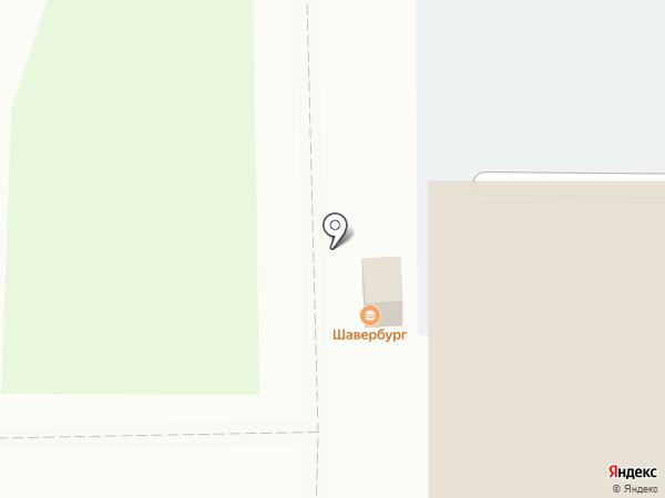 Шаурмания на карте Оренбурга
