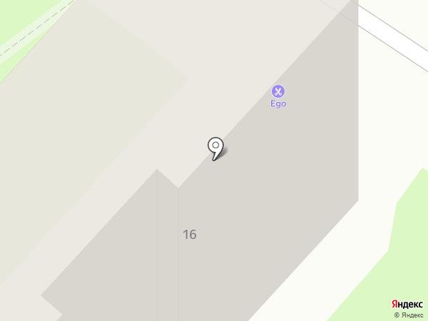 Ego на карте Оренбурга