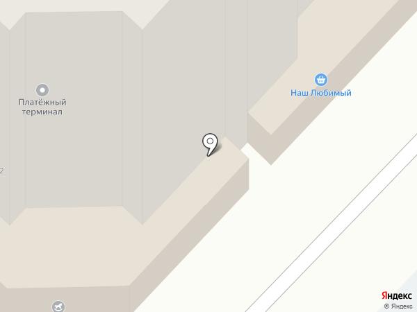 Наш Любимый на карте Оренбурга