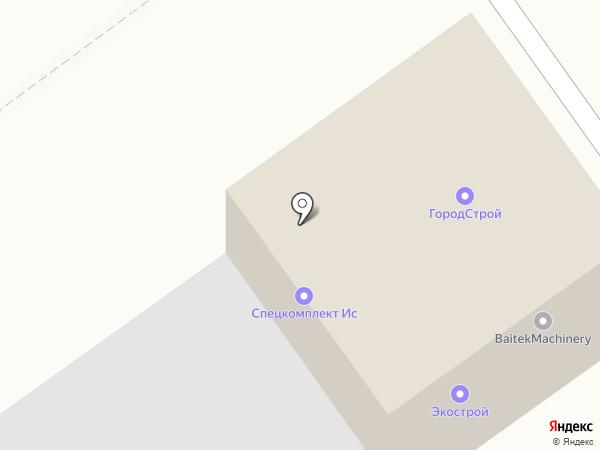Декомат на карте Оренбурга