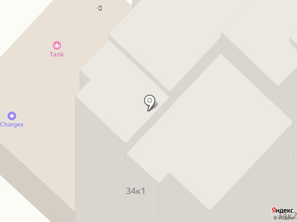 Тазик на карте Оренбурга