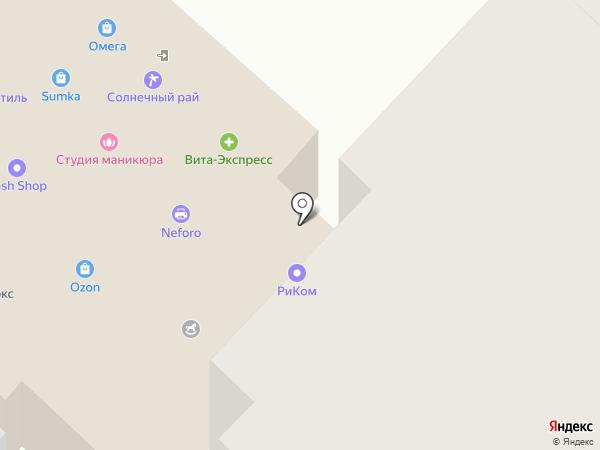 Фарадей на карте Оренбурга