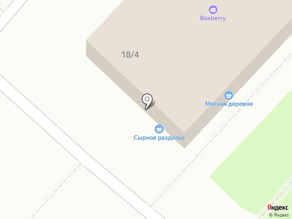 свежий кег на карте Оренбурга