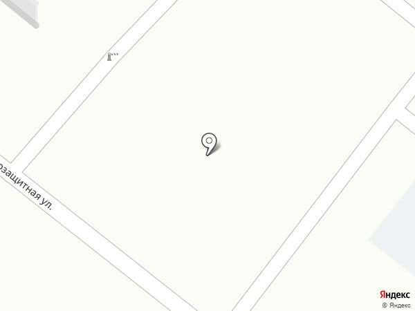 Петровский на карте Оренбурга