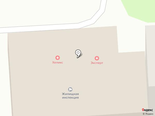 Клиника Эксперт на карте Оренбурга