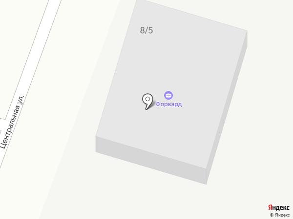 Форвард на карте Весеннего