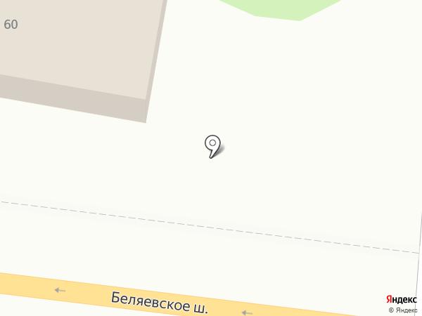 Компания по продаже зерна на карте Оренбурга