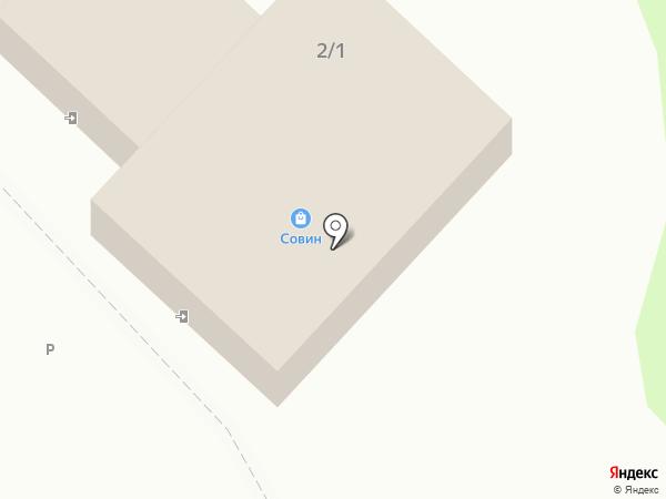 СОВИН РОЗНИЦА на карте Оренбурга