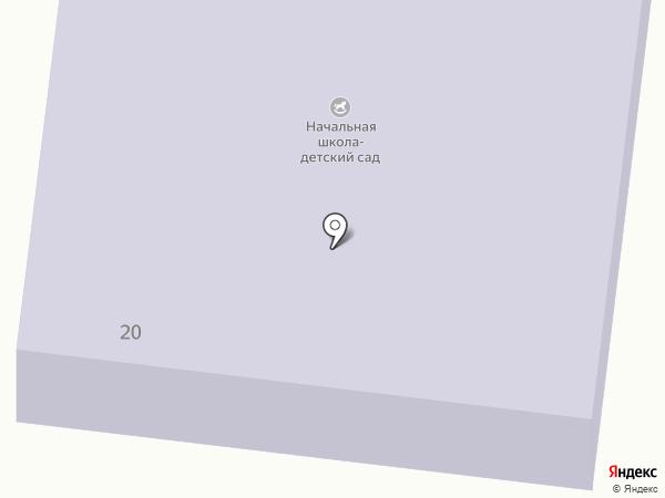 Весенняя начальная школа-детский сад на карте Весеннего