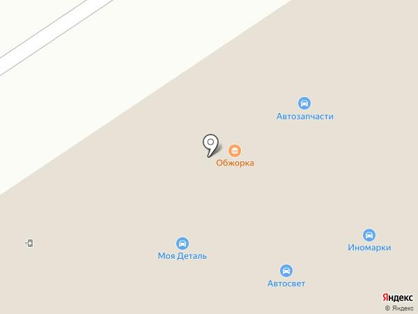 Светофор на карте Оренбурга
