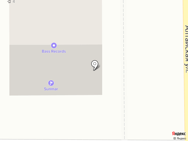 Бухен Хауз на карте Оренбурга