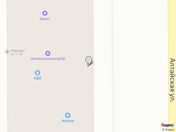 Грош на карте Оренбурга