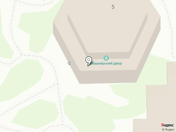 Теннис-клуб на карте Оренбурга