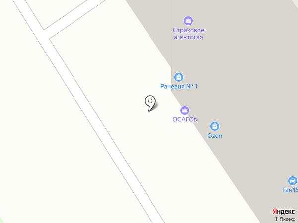 Городская клиническая больница №3 на карте Оренбурга