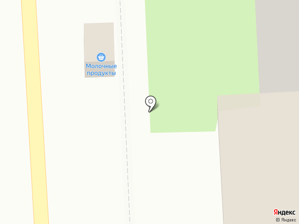 Киоск по продаже молочных продуктов на карте Оренбурга