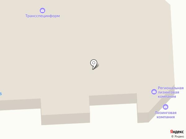 Катана на карте Оренбурга