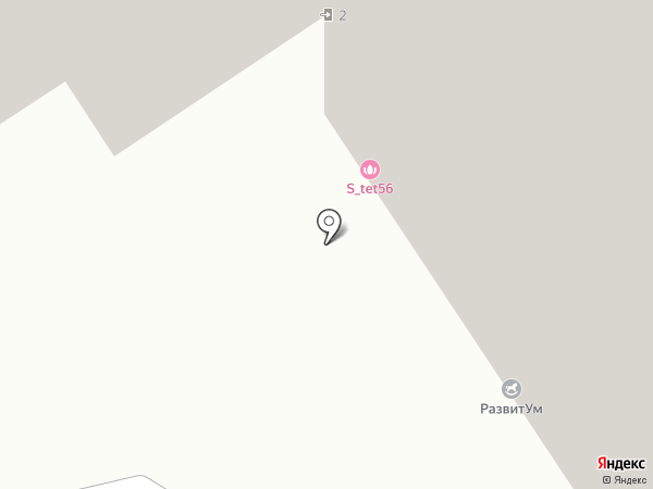 MyKinder.club на карте Оренбурга