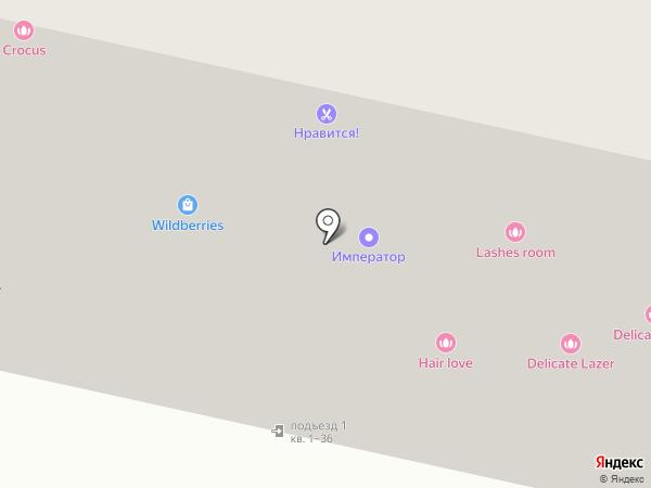 Гарант на карте Оренбурга
