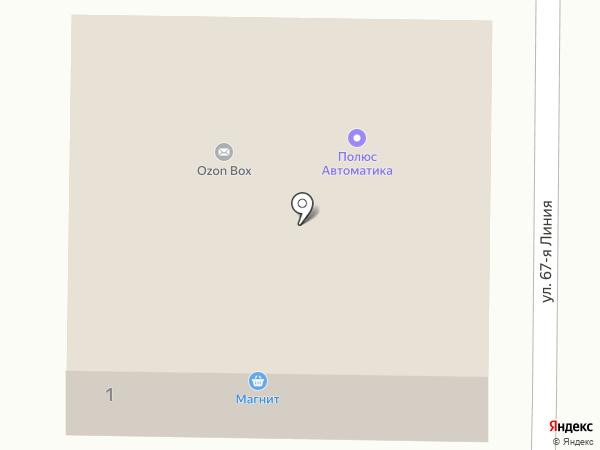 Магазин разливных напитков на карте Оренбурга
