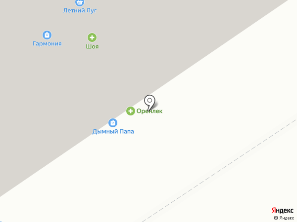 Ноготок на карте Оренбурга