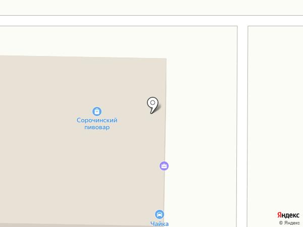 Сервисный центр на карте Оренбурга