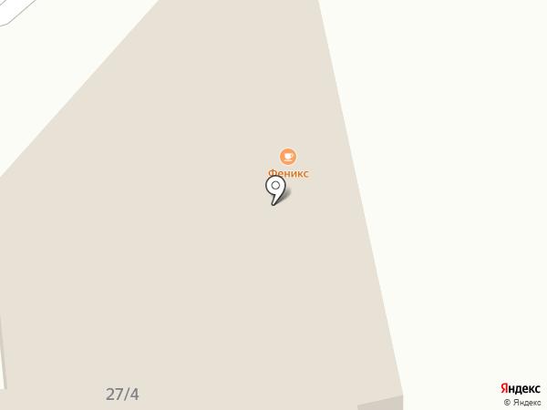 Феникс на карте Оренбурга