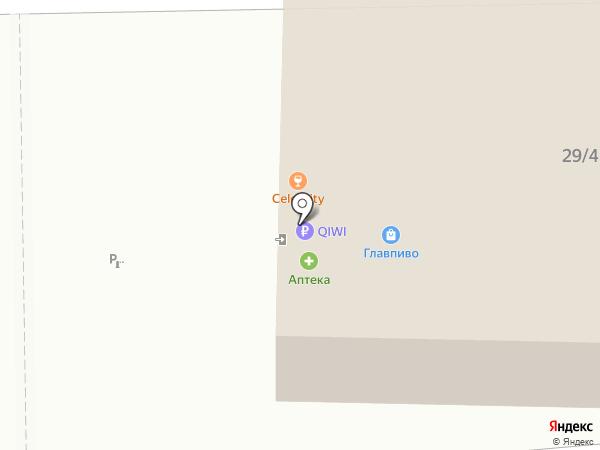 Celebrity на карте Оренбурга