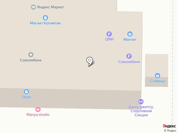Сеть пунктов приема платежей на карте Оренбурга