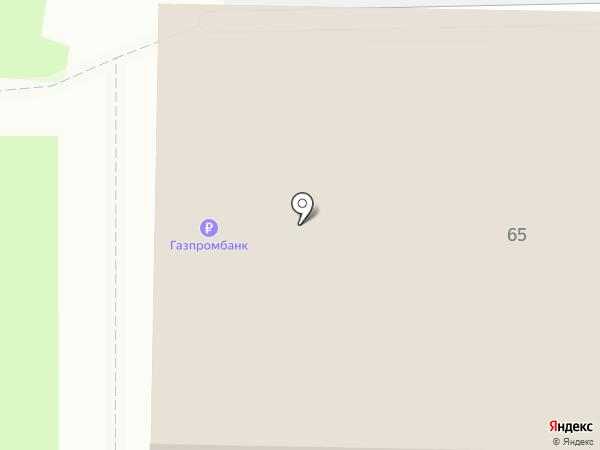 С иголочки на карте Оренбурга