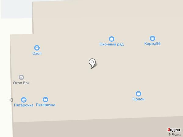 Shkatulka на карте Оренбурга