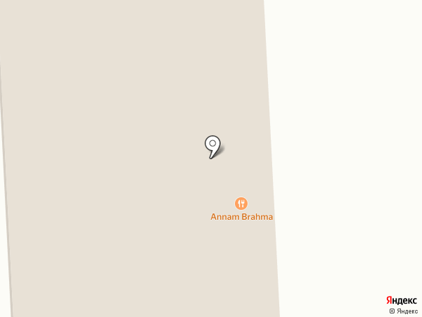 Annam Brahma на карте Оренбурга