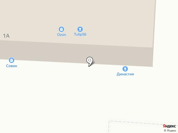 Красное & Белое на карте Пригородного