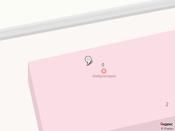 Врачебная амбулатория пос. Пригородный на карте Пригородного