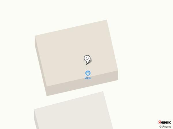 Яик на карте Нежинки