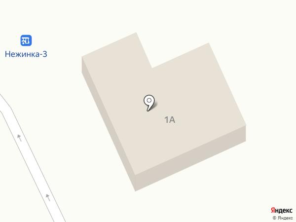 Юлдаш на карте Нежинки