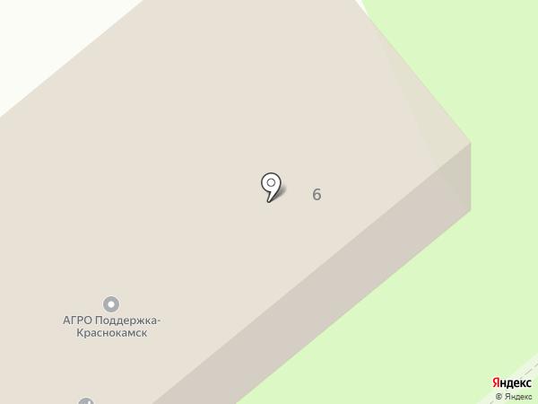Труженик на карте Краснокамска