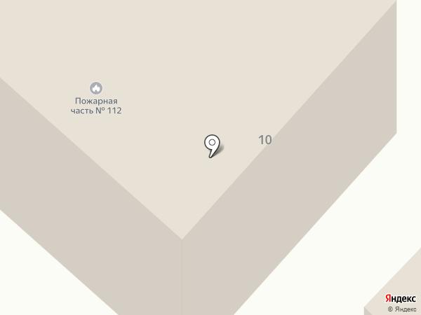 Пожарная часть №112 на карте Усть-Качки