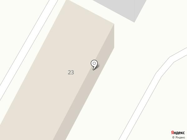 Торговый ряд на карте Усть-Качки